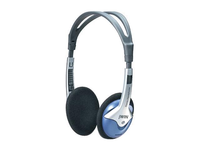 jWIN JH-P45 3.5mm Connector Supra-aural Lightweight Heavy Bass Digital Stereo Headphones