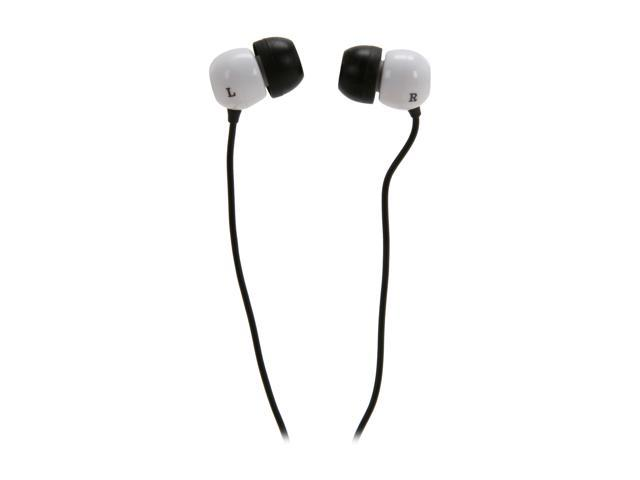 Pioneer White SE-CL07-H 3.5mm Connector Canal Stereo Headphone (White)