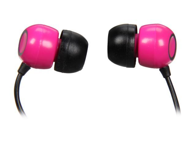 Pioneer Pink SE-CL07-P 3.5mm Connector Canal Stereo Headphone (Pink)
