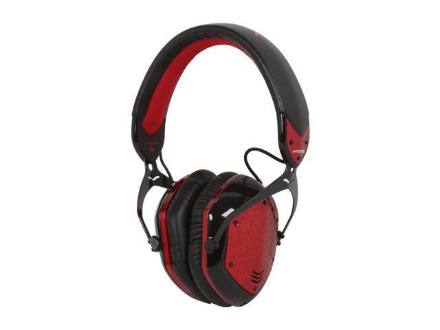V-Moda XFLPR-ROUGE 3.5mm/ 6.3mm Connector Over-Ear Crossfade LP Premium Headphone - Rouge