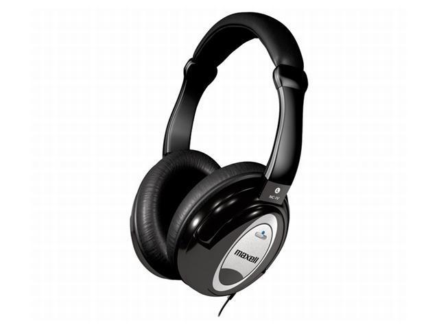 Maxell HP/NC-IV Circumaural Superior Noise Cancellation Headphones