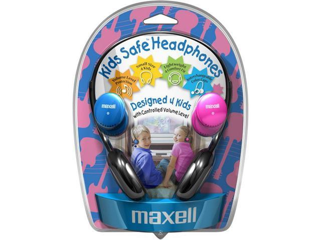 Maxell KHP-2 3.5mm Connector Supra-aural Kids Safe Headphone