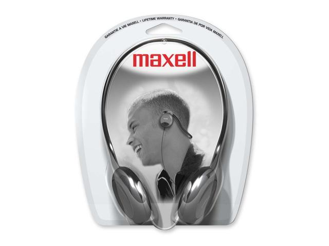 Maxell 190316 3.5mm Connector Supra-aural NB-201 Stereo Neckbands Headphone