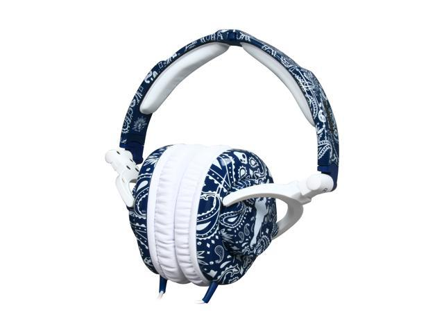 Skullcandy Skullcrusher Circumaural Over Ear Headphone, Snoop Crusher Blue