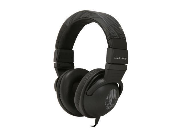 Skullcandy Hesh Gray/Black S6HEDZ-118 3.5mm Connector Circumaural Headphone (Black/Gray) (2011 Model)