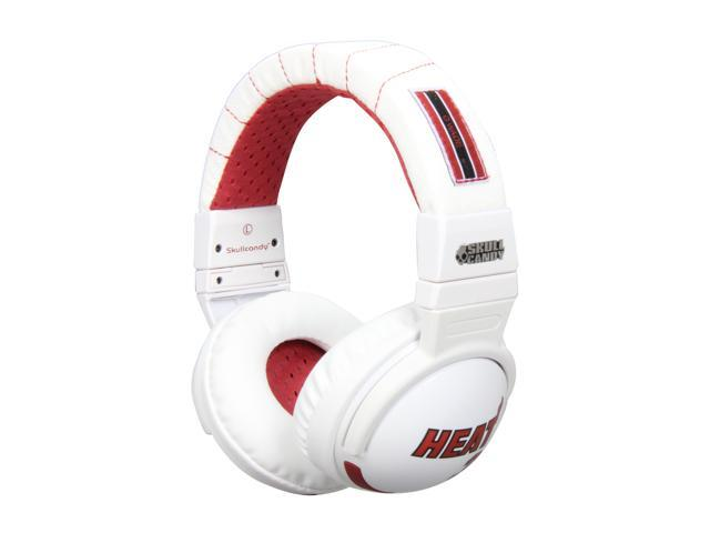 Skullcandy Hesh White SGHEBZ-17 Over Ear Headphone w/ Mic - Dwyane Wade  (White) (2011 Model)