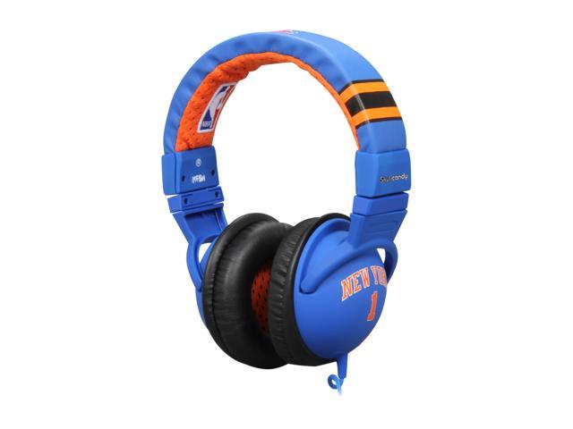 Skullcandy Hesh S6HEDY-148 3.5mm Connector Circumaural Headphone w/ Mic - Amare Stoudemire Blue (2011 Model)