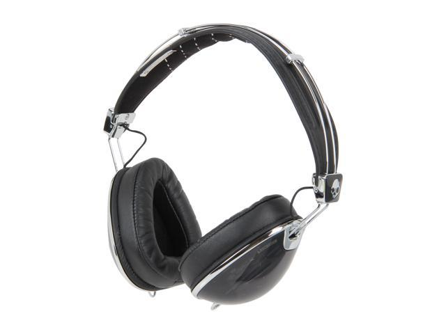 Skullcandy Roc Nation Aviator Over-Ear Headphones w/ Mic (Black) - S6AVDM-156  (2011 Model)