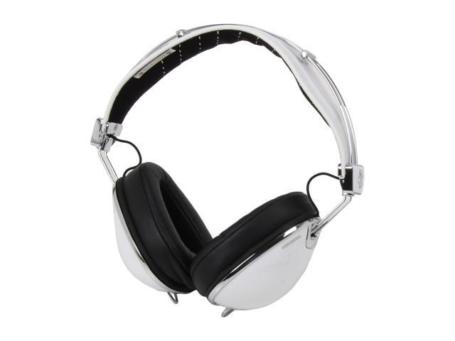 Skullcandy Roc Nation Aviator Over-Ear Headphones w/ Mic (White) - S6AVDM-158  (2011 Model)