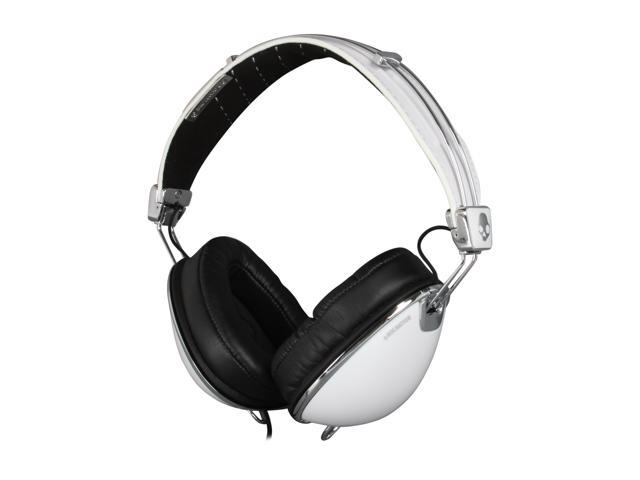 Skullcandy White Roc Nation Aviator Over-Ear Roc Nation Aviator Headphone - White