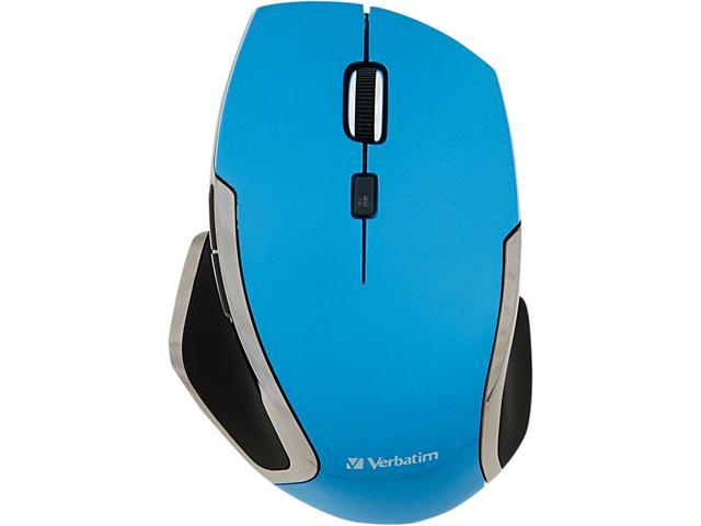 Verbatim 99016 Blue 6 Buttons 1 x Wheel RF RF Wireless Blue LED Notebook 6-Button Deluxe Mouse