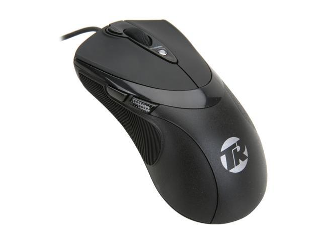 Tek Republic TM Black 7 Buttons 1 x Wheel USB Wired Laser Gaming Mouse