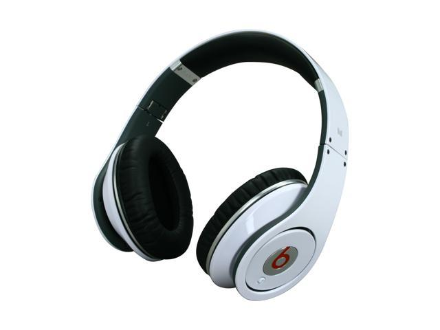 Beats by Dr. Dre Studio On Ear High-Definition Headphone (White)