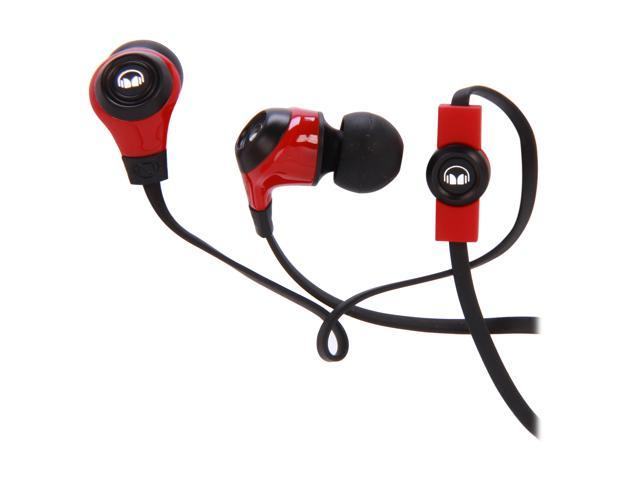 Monster Ncredible N-ergy In-Ear Headphone - Cherry Red