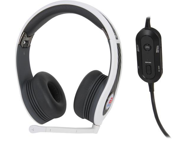 Monster Game 128973-00 3.5mm/ USB Connector MVP Carbon On-Ear Headset - White