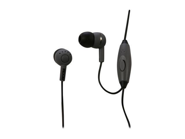 BOOM Gray LDSG 3.5mm Connector Canal Spoken Leader Headphone