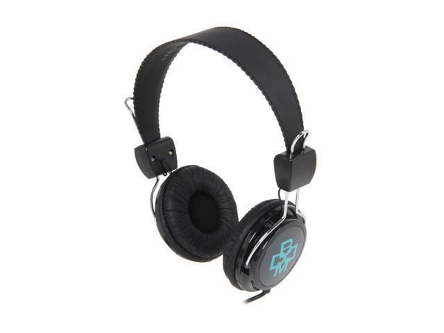 BOOM Gray Renegade Grey 3.5mm Connector Over-Ear Renegade Headphone - Grey & Teal