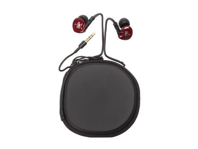 Mee audio M6-RD Canal Stylish Sound-Isolating Earphones (Red)