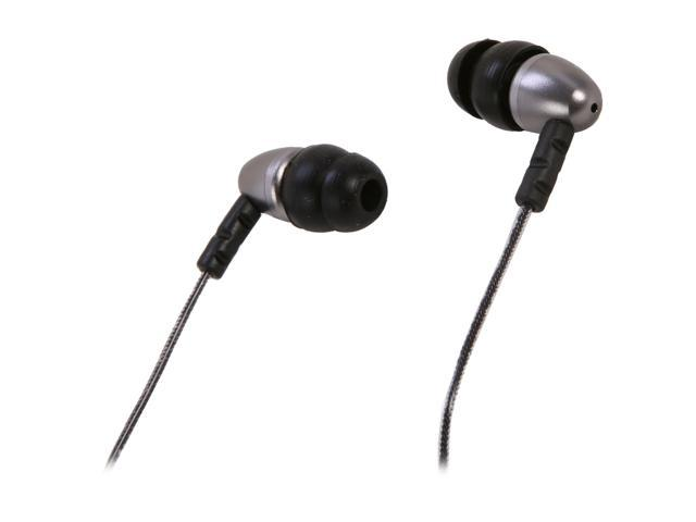 MEElectronics N8-MT Binaural Noise Isolasion In Ear Headphones (Metalic)