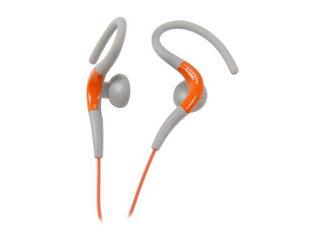 Cresyn Orange C220EO 3.5mm Connector Earbud Sport Headphone - Orange