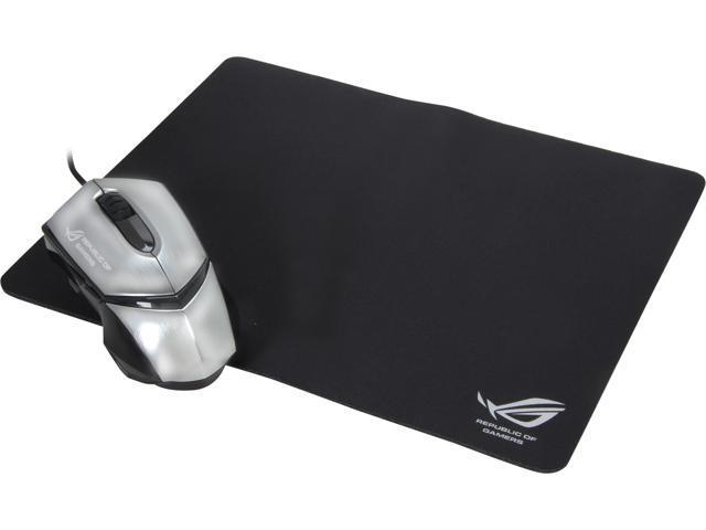 ASUS ROG GX1000 Eagle Eye 90-XB3B00MU000 Black/Silver 1 x Wheel USB 2.0 Wired Laser Mouse