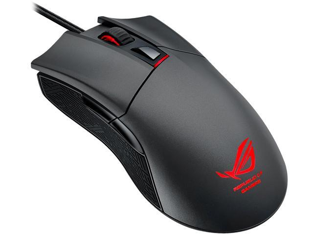 ASUS ROG Gladius 90MP0081-B0UA00 Steel Grey 6 Buttons 1 x Wheel USB Wired Optical Gaming Mouse