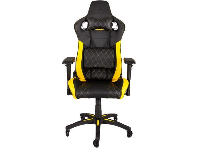 corsair t1 race, gaming chair, high back desk and office chair