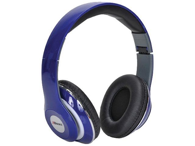2Boom Blue HPM380B Mixx Over-ear Headphones With Microphone