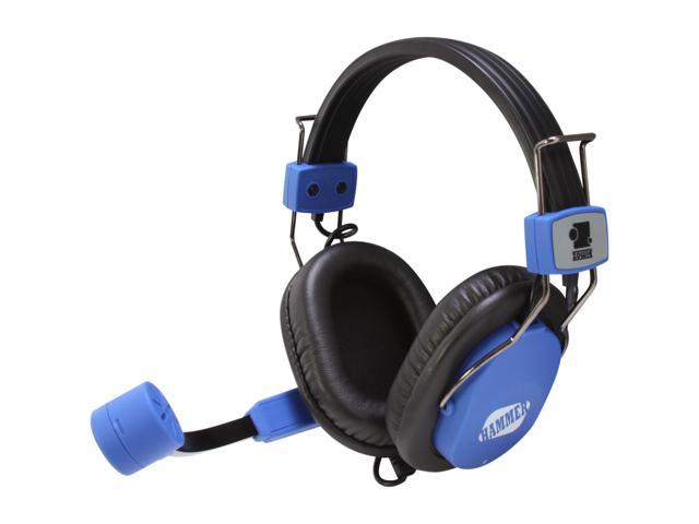 ZOWIE GEAR Hammer Blue 3.5mm Gold-plated Connector Circumaural e-SPORT Gold-plated Connector Gaming Headset