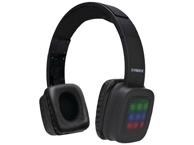 Fisher Black FBHP950 Solo Party Bluetooth Over-ear Headphones With Microphone