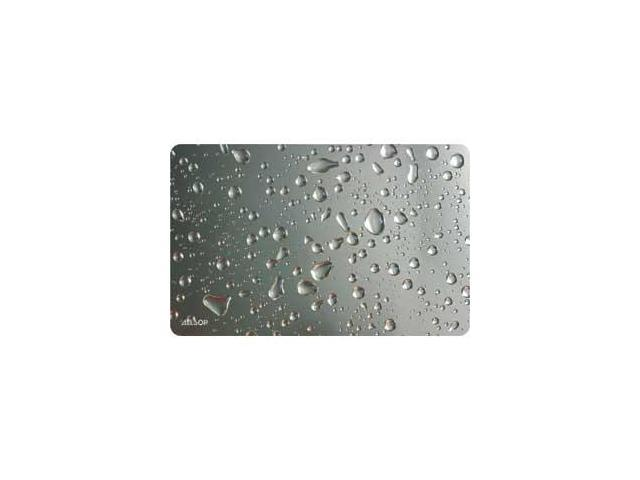 Allsop 29648 Widescreen Metallic Raindrop Mouse Pad