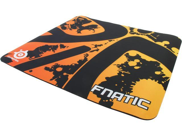 SteelSeries 63039 QcK+ Gaming Mouse Pad - Fnatic Edition