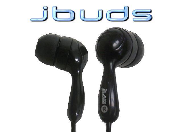 JLAB JBUDS 854291001105 3.5mm Connector Canal Hi-Fi Noise Canceling Earphones, Black