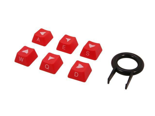 Rosewill RIKA-12001 6 Keycaps and Keycap Puller for Mechanical Keyboards with Cherry MX Switches