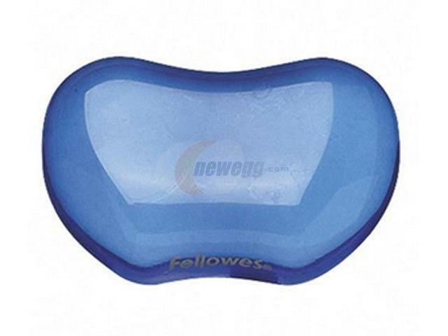 Fellowes 91177 Blue Crystal Flex Rest