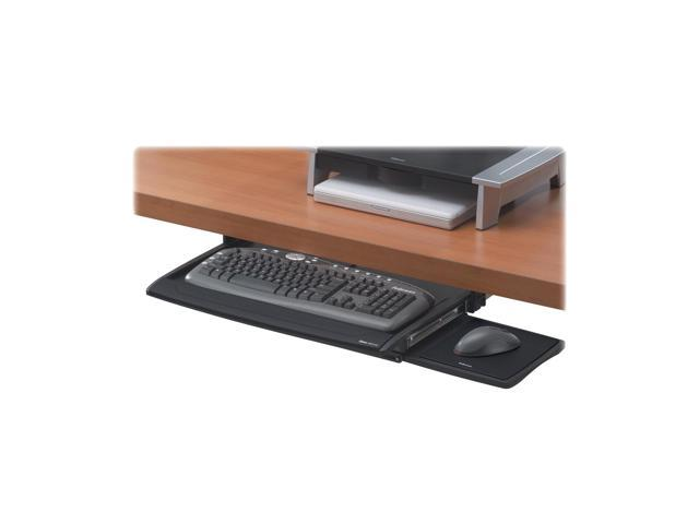 Fellowes 8031201 Deluxe Keyboard Drawer with Soft Touch Wrist Rest