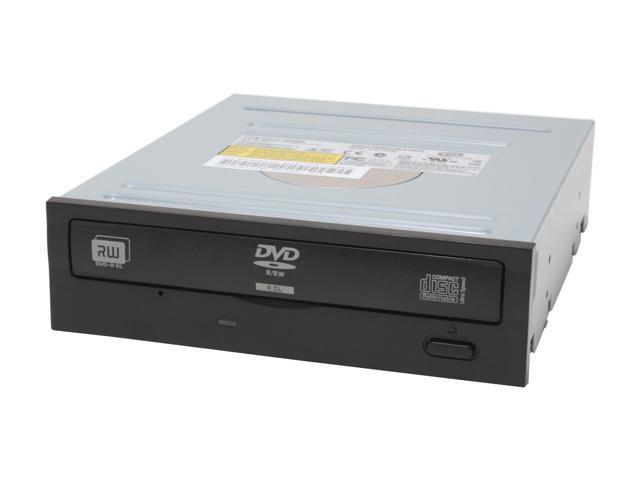LITE-ON 16X DVD±R DVD Burner Black IDE Model SHW160P6S05 - OEM