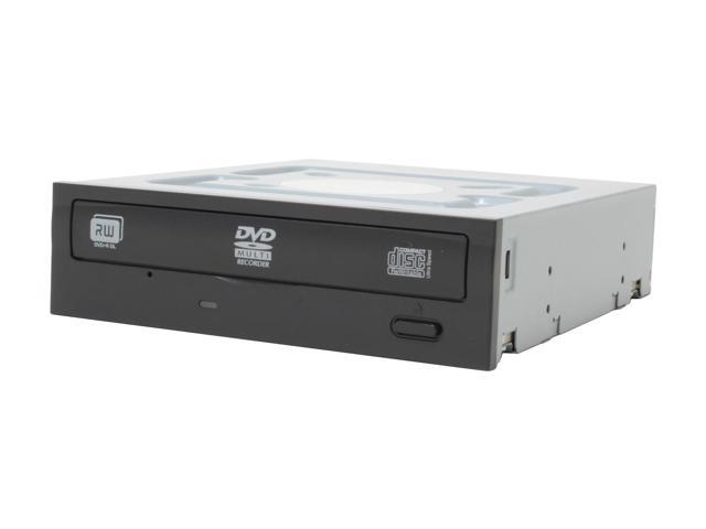 LITE-ON 18X DVD±R DVD Burner With 12X DVD-RAM Write Black IDE Model LH-18A1P-185