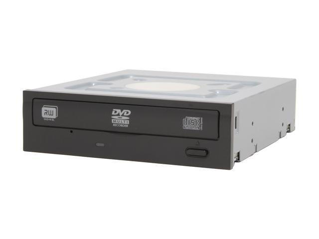 LITE-ON 20X DVD±R DVD Burner included extra White bezel, with 12X DVD-RAM Write Black IDE Model LH-20A1P-186