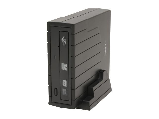 LITE-ON USB 2.0 20X DVD±R External DVD Burner with 12X DVD-RAM Write and LightScribe Model LH-20A1HX LightScribe Support