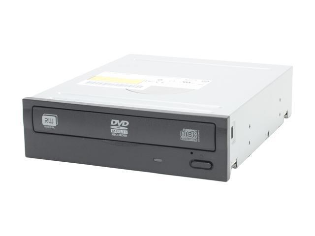 LITE-ON 20X DVD±R DVD Burner included extra White bezel, with 12X DVD-RAM Write Black IDE Model DH-20A3P-08