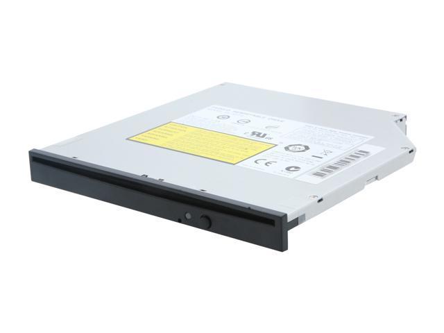 LITE-ON Slot Load CD/DVD Burner Black Slim SATA Model DL-8ATS - OEM