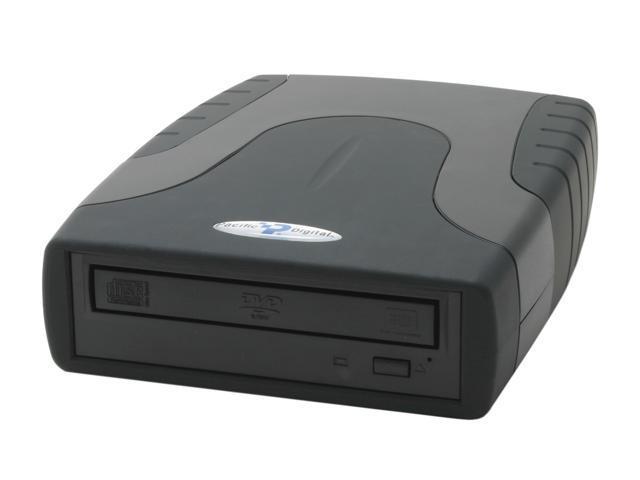 Pacific Digital USB 2.0 External DVD Burner Model U-30274