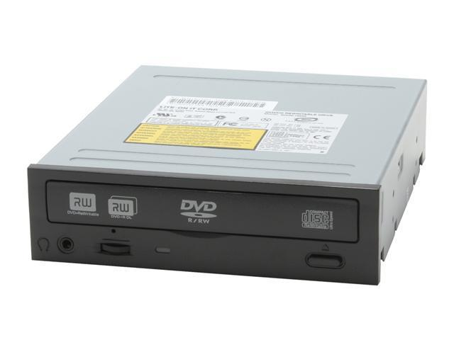 LITE-ON DVD Burner Black IDE Model SOHW-1653S BLK