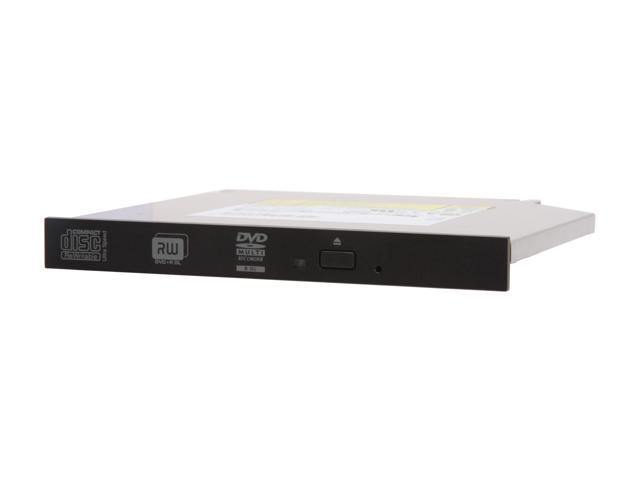 Sony Optiarc Slim 8X DVD±R Burner Black SATA Model AD-7590S-01 - OEM