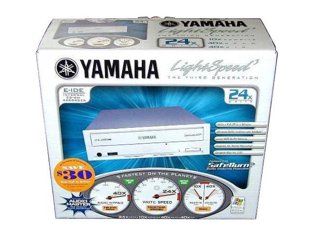 YAMAHA CD Burner Beige IDE Model CRW3200EZ