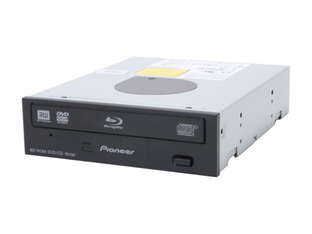 Pioneer Black Blu-Ray Reader and 12X DVD±R DVD Burner SATA Model BDC-2202B