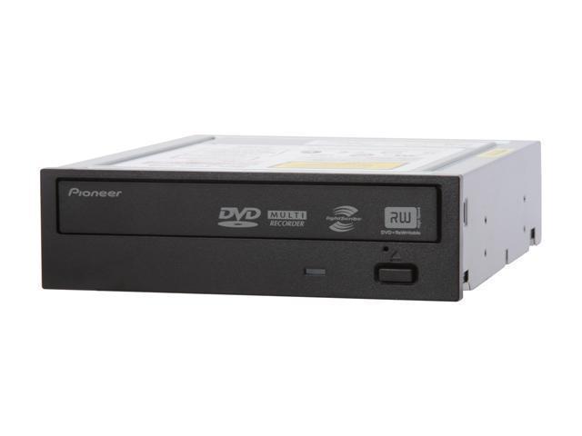 Pioneer 20X DVD±R DVD Burner with LightScribe Black SATA Model DVR-213LS LightScribe Support