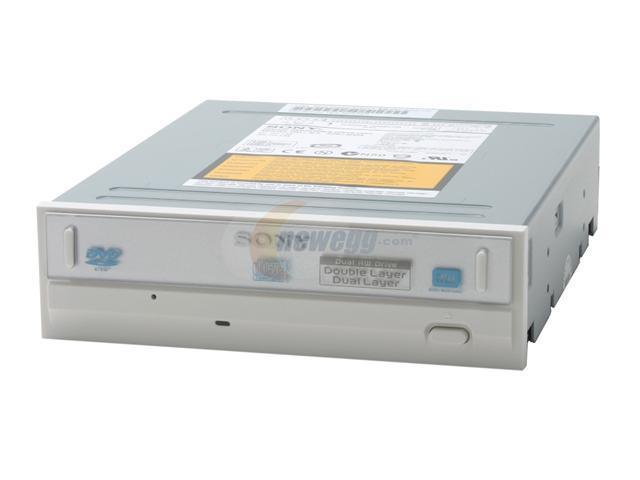 SONY 16X DVD±R DVD Burner with black replacement front bezel Beige E-IDE/ATAPI Model DRU800A