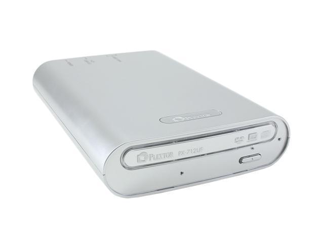 PLEXTOR IEEE 1394 /  USB 2.0 External DVD Burner Model PX-712UF/SW